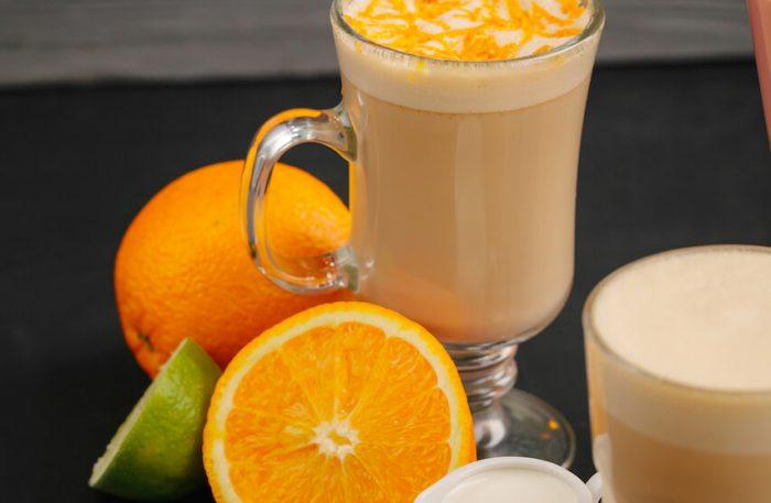 Апельсиновый раф